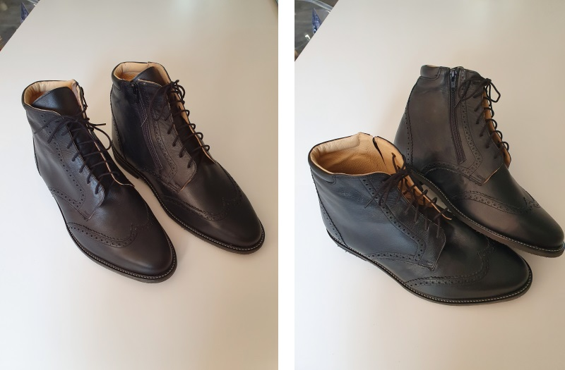 Chaussures orthopédiques homme, pour inégalités de longueurs du membre inférieur droit de 3 cm Toulouse, L'Union, Balma, Quint Fonsegrives, Labège, Castanet Tolosan